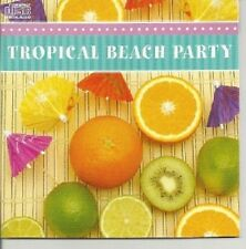 TROPICAL BEACH PARTY STEEL DRUM ISLAND DANCE PARTY MUSIC MIX CD