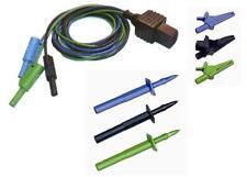TEK119 / S2038 Distribution Board 3 Wire TEST LEAD SET  - METREL Testers