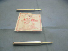 Lot of Hexacon Model: HT263C Durotherm Grade Solder Tips.  Qy. 2  New Old Stock<