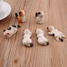 Lot de 6 céramique chat Baguettes Cuillère Fourchette reste détenteurs japonais kawaii japon