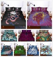 3D Octopus Skull Duvet Cover Comforter Cover Quilt Cover Bedding Set Pillowcases