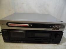 New listing Vtg Magnavox Mrv640 Cd Player Dvd Recorder & Sony Tc-Fx110 Cassette Tape Player