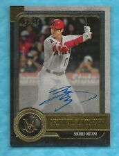 SHOHEI OHTANI 2019 Topps Museum Collection Archival Autographs Gold #AASO 20/25