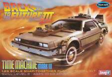 Polar Lights Back to the Future III DeLorean Time Machine model kit 1/25