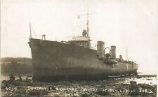 More details for largs. destroyer laverock shipwreck at blackhouse # 4015 by j.& r.simpson, largs