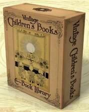VINTAGE ILLUSTRATED CHILDREN'S BOOKS 622 books 3 DVD-Roms Stories, Fairy Tales