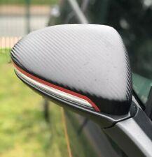 Spiegelstreifen AUFKLEBER für VW Golf 7 VII GTD GTI R MK Spiegelkappen Streifen