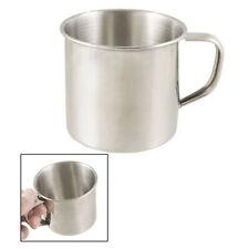Stainless Steel Travel Camping Mug Outdoor Drinking Beer Coffee Tea Handle Cup