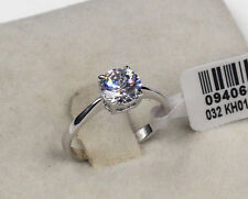 Women's Engagement Genuine Gold Filled 1.25 ct Engagement Eternity Ring size 8