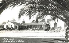 RPPC-CIty Hall, Santa Cruz, CA   Zan 1078