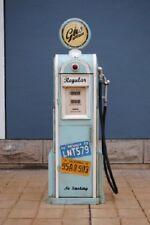 Tanksäule Zapfsäule Gasoline Höhe155cm Dekoration mit Globe als Uhr Nr.LB