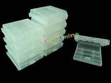 CLEAR CASE Rechargeable AA AAA 2A 3A Battery x 10 box