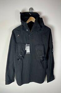 Mens C.P. Company 09CM0S128A 002824G Black Overshirt Gabardine Size L