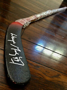 WAYNE GRETZKY AUTOGRAPGED SIGNED TPS RESPONSE HOCKEY STICK - EXCELLENT COND
