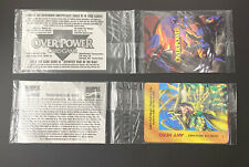 1995 Marvel Overpower Sealed Card/ Sweepstakes Card Packs
