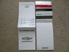 2014 CHEVROLET SS FACTORY COLOR CHIP SAMPLE CHART BROCHURE NASCAR INSPIRED NEW
