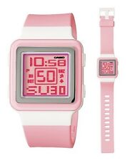 Casio Watch * LDF20-4A Digital Square Pink Resin for Girls COD PayPal
