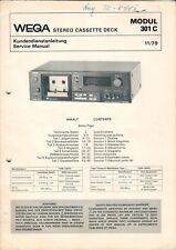 WEGA - Modul 301 C - Service Manual Anleitung Schaltplan Diagrams - B6468