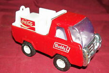 Old Buddy L Coca-Cole Delivery Truck Pressed Stamped Metal Vintage Coke Vehicle