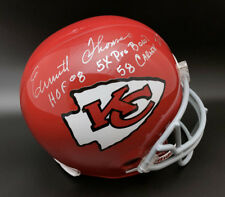 Autographs-Original JOHNNY ROBINSON CHIEFS NAMEPLATE AUTOGRAPHED Signed FOOTBALL-HELMET-JERSEY-PHOTO