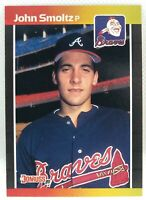 1989 Donruss John Smoltz #642 Rookie Card RC Atlanta Braves NM-Mint HOF