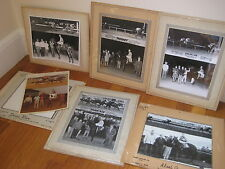 vintage lot 6 Horse Racing PHOTOS Charles Town WV Waterford Park Laurel MD 1965