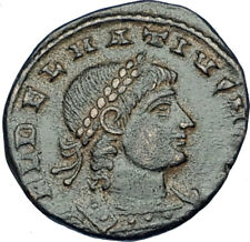 DELMATIUS 335AD Alexandria Authentic Ancient Roman Coin LEGION SOLDIERS i65843