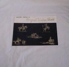 Vintage Western Horse Prints Original Collector's Portfolio Charles R. Crouch