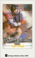 1996/97 Futera Cricket Decider Acetate Card Run Machine RM4: Mark Waugh