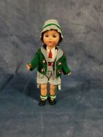 Original Schmider Trachten Sleepy Eye Hollow Plastic Doll, Bayern, #4072.19