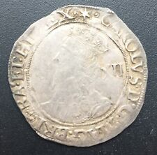 Silver 1640-41 Great Britain Shilling Charles VF Condition