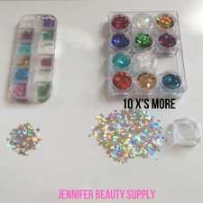 HOLOGRAPHIC 3D BUTTERFLY NAIL ART DECORATION LASER SEQUINS FLAKES | US SELLER