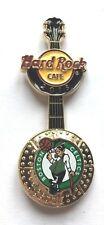 Hard Rock Cafe Pin Badge NBA BasketBall 3D Logo Guitar - Boston Celtics