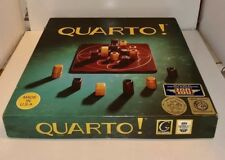 Quarto! Game from Gigamic 1993 Wooden Board Game France Complete Very Good