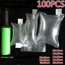 100pcs Aufblasbar Luft Packung Beutel Kissen Stoßfest Packung Tasche mit Pumpe