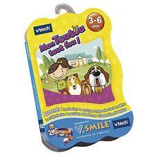 Jeu V.SMILE Mon Toutou Tout Fou - 3-6 ans - Vtech-Vsmile -Disney
