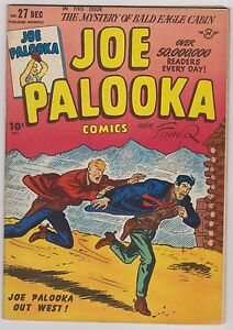 Joe Palooka #27, Very Fine Condition