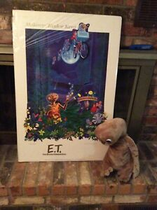 E T The Extra Terrestrial Poster/ Character, Signed Melanie Taylor