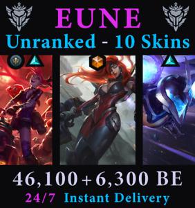 LoL EUNE Account Unranked Gun Goddess MF Kai'Sa Jinx Skins Acc League of Legends