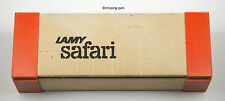 Lamy Safari original very rare only BOX from Terracotta from the 1980´s
