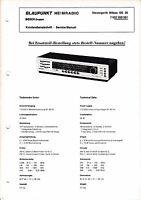 Service Manual-Anleitung für Blaupunkt Bilbao SG 20, 7 622 350,351