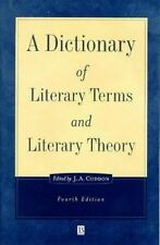 A Dictionary of Literary Terms and Literary Theory (The Language Library) Cuddo