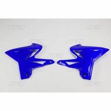 UFO YAMAHA YZ 125 250 03 - 12 RESTYLED RADIATOR SCOOPS BLUE 4834