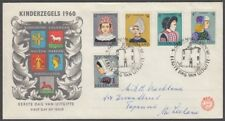 Netherlands 1960 Child Welfare Illustrated Fdc (Id:383/D49757)