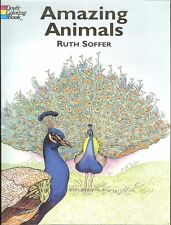 Amazing Animals Coloring Book -46 unusual animals from Dover Publications NEW PB