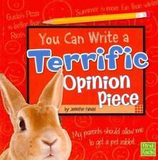 YOU CAN WRITE A TERRIFIC OPINION PIECE - FANDEL, JENNIFER - NEW PAPERBACK BOOK