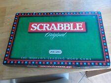 Vintage 1988 Spears Games Scrabble Original, complete.