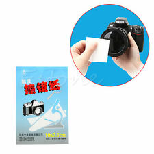 3x 50 Sheets Soft Camera Lens Optics Tissue Cleaning Clean Paper Wipes Booklet