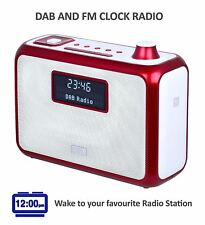 August MB400R - Bluetooth Speaker with DAB Radio - refurbished - Red