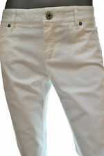 HUGO BOSS ORANGE JEANS DONNA LUNJA1 TG. W 30 L 34 BIANCO SPECIAL TREATMENT